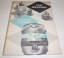 Book: The Reading: Building A Modern Railroad (1958 Rdg. Company Publicity Book)