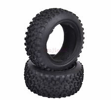 2PCS 85*34mm RC 1/10 Off-Road Buggy Car Front Foam Rubber Tyre Tires 06009 7008F