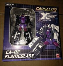 Transformers Fansproject CA-02 Flameblast Causality Crossfire New Bruticus Limb