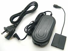 AC Power Adapter + DC Coupler for Canon ACK-DC90 Powershot ELPH 320 340 350 HS
