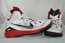 Nike Hyperdunk 2014 Gr: 41 Weiss Rot  Basketball Mid High Tops