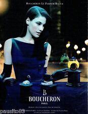PUBLICITE ADVERTISING 106  1998   le  parfum femme Bague par Boucheron