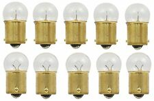 10x 63 Light Bulb Miniature Incandescent Bright Auto Car RV Camper Lamps BA15S