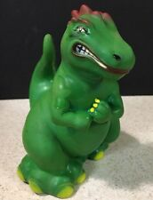 "Vintage Dinosaur Made in Taiwan ROC Bath Water Toy Rare Design Corp 7"" Tall"