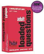 Adult Loaded Questions 2015 Edition Party Card Word Board Game