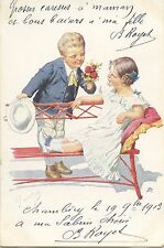 CARTE POSTALE POSTCARD / ILLUSTRATEUR / CHILD / JEUX D'ENFANTS