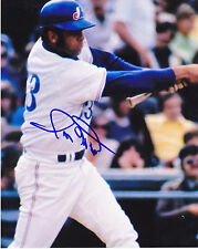 RON HUNT  MONTREAL EXPOS    ACTION SIGNED 8x10