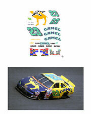 #23 Jimmie Spencer Camel 1997 1/64 scale decal AFX Tyco Lifelike Autoworld