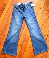 NWT Girl's OshKosh B'Gosh Light Wash Bootcut Stretch Jeans (Size 7)