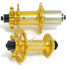 Circus Monkey HDW MTB Disc Hubs,32 Hole,1 Pair,Gold