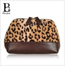 Fashion european and american Cosmetic bag-- Leopard fur of Bohemian Clutches
