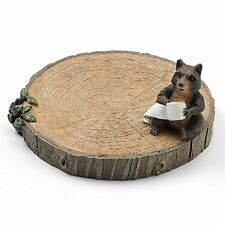New Saturday Knight Bathroom Soap Dish Gotta Go Rustic Bear