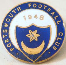 PORTSMOUTH Very rare 1948 Golden Jubilee season badge Maker REEVES B'ham 26mmDia