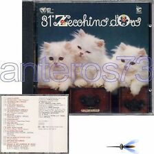 ZECCHINO D'ORO 31° RARO CD 1988 MARIELE VENTRE - SEALED