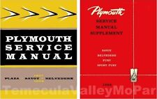 Factory Shop - Service Manual Set for 1957-1959 Plymouth