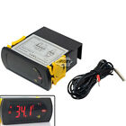 220V LED Digital Temperature Controller with 2m Sensor Thermostat Temp Control