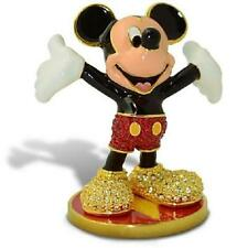 "DISNEY PARKS ""MICKEY MOUSE"" JEWELED FIGURINE BY ARRIBAS - SWAROVSKI® LE"