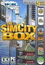 SimCity Box (PC, 2008) 4 Deluxe