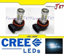 CREE LED 80W H11 WHITE 6000K TWO BULB HEAD LIGHT FOG JDM COLOR LAMP REPLACEMENT