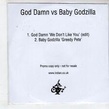 (GN249) God Damn Vs Baby Godzilla, We Don't Like You - DJ CD