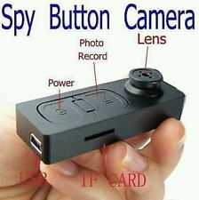 Spy Button Camera HD Top Quality Audio Video Recording