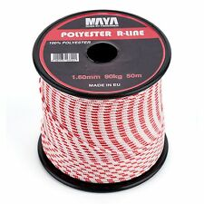 Maya Fishing Polyester R-Line Dyneema Stronge Rope 1.6mm 90 Kg Spearfishing Line