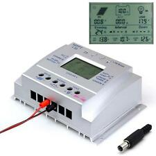 80A MPPT Solar Panel Regulator Battery Charger Controller 12/24V With LCD USB WT