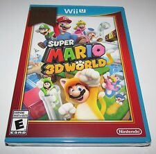 Super Mario 3D World for Nintendo Wii U Brand New! Factory Sealed!