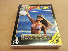 ^ BRAND NEW FACTORY SEALED Malibu Bikini Volleyball Video Game for Atari Lynx
