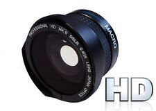 Hi Def Fisheye Lens With Macro for Sony HDR-CX110 HDR-CX150 HDR-CX580 HDR-PJ580