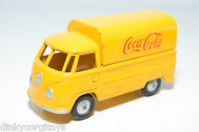 BUDGIE VW VOLKSWAGEN TRANSPORTER T1 PICK UP COCA-COLA VAN VN MINT CONDITION