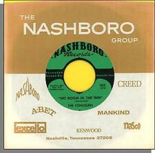 """The Consolers - No Room At the Inn + Let The Bells Ring - 7"""" 45 RPM Single!"""