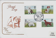 GB Cotswold FDC: 1979 'British Dogs' + Crufts Exhibition SHS