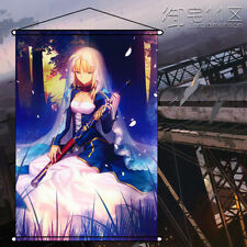 Anime Home Decor Poster Wall Scroll Painting Fate/stay Night Altria Saber