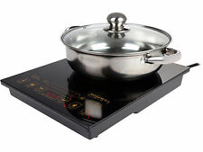 Rosewill RHAI-16002 1800W 5 Pre-Programmed Settings Induction Cooker Cooktop