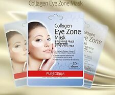 Collagen eye zone mask sheets,reduce eye puffiness,dark circles,2pack(60sheets)