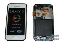Samsung i9001 Galaxy S Plus LCD TOUCH SCREEN DISPLAY VETRO ORIGINALE NUOVO WHITE