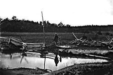 New 5x7 Civil War Photo: Photograher Mathew Brady on Gettysburg Battlefield