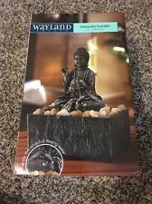 New Wayland Square Tranquility Fountain Zen Buddha Waterfall