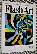 2001 FLASH ART Magazine, FRANZ ACKERMAN, HIRST, TONY OURSLER, FISHERSPOONER