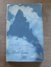 THE SPIRITUAL QUEST OF ALBERT CAMUS - 1st/1st - HCDJ 1976 - philosophy stranger