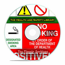 8,500+ Printable Health And Safety OSHA Warning Signs & Posters on CD E88