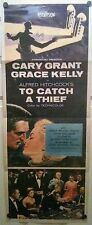 To Catch a Thief ~ 1955 Original Movie Poster ~ Cary Grant Grace Kelly Hitchcock