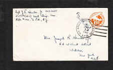WWII APO 149 Germany Occupation 6c Air Mail PSE July 1 1945 to USA Uncommon  z30