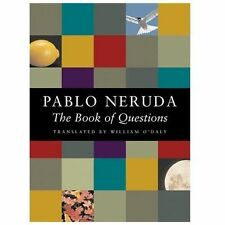 THE BOOK OF QUESTIONS by Pablo Neruda (2001, Paperback, Translated)