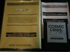 RARE  Cosmic Crisis for Colecovision COLECO Never Played