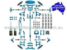 Yeah Racing Blue aluminium ULTIMATE conv kit for Tamiya TT02 1:10 RC CK-TT02BU