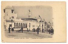 paris  exposition de 1900 pavillon de l'algérie