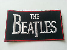 HEAVY METAL PUNK ROCK MUSIC SEW / IRON ON PATCH:- THE BEATLES (b) PATCH No. 0016