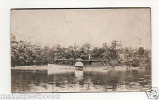 Side-Wheeler Steamboat  Real Photo Postcard c1904-1920 paddle-steamer steamboat